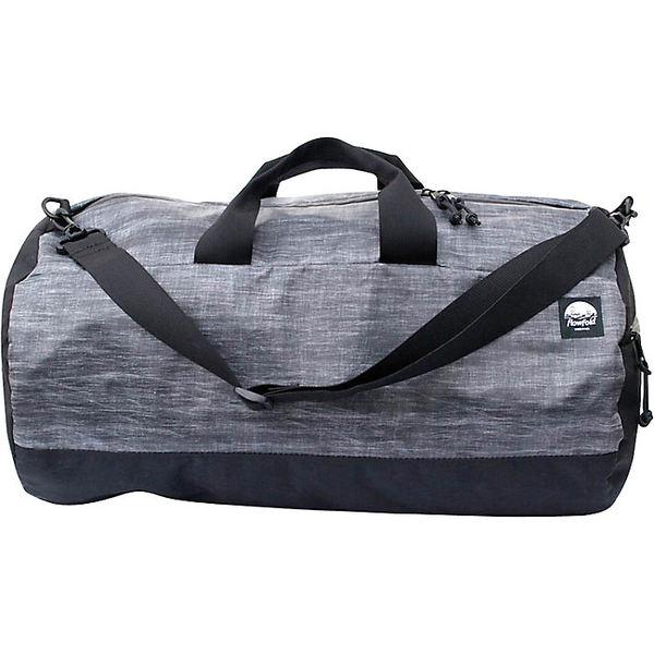 フローフォールド レディース ボストンバッグ バッグ Flowfold Conductor Limited Duffle Bag Heather Grey