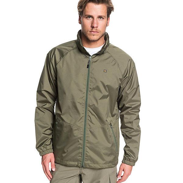 クイックシルバー メンズ ジャケット&ブルゾン アウター Quiksilver Men's Shell Shock 3 Jacket Dusty Olive