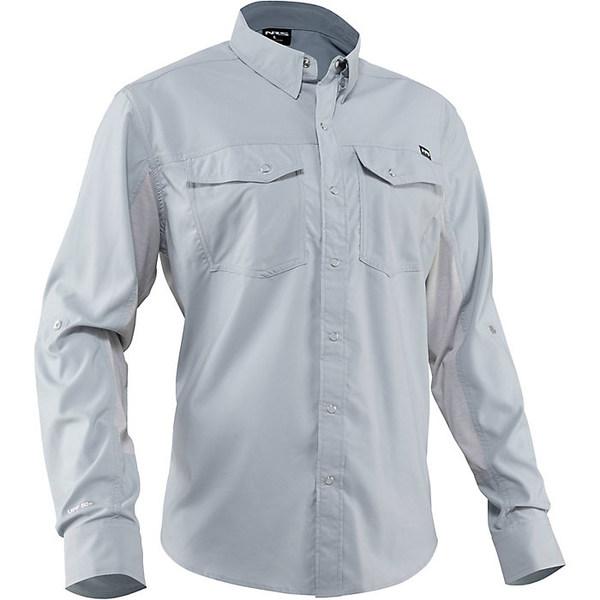 エヌアールエス メンズ シャツ トップス NRS Men's Guide LS Shirt Quarry S20