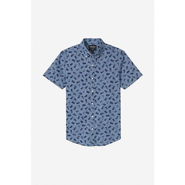 ボノボス メンズ シャツ トップス Bonobos Men's Riviera SS Shirt Paint Mark Medium Chambray