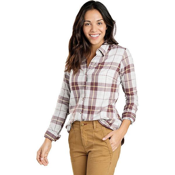 トードアンドコー レディース シャツ トップス Toad & Co Women's Lightfoot LS Shirt Heather Grey