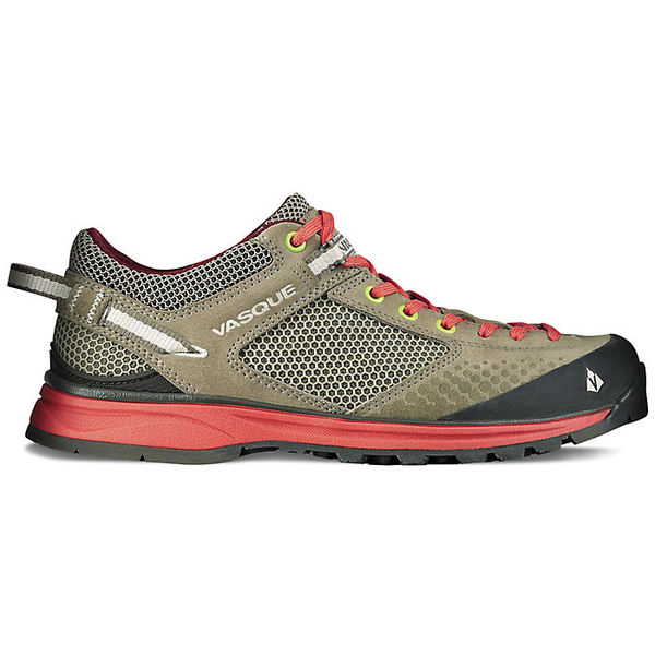 バスク レディース ハイキング スポーツ Vasque Women's Grand Traverse Shoe Aluminum/Hot Coral