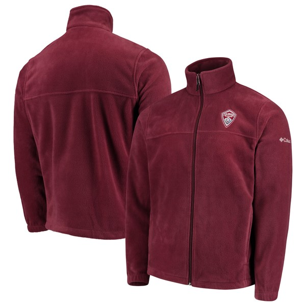 コロンビア メンズ ジャケット&ブルゾン アウター Colorado Rapids Columbia Flanker FullZip Jacket Maroon
