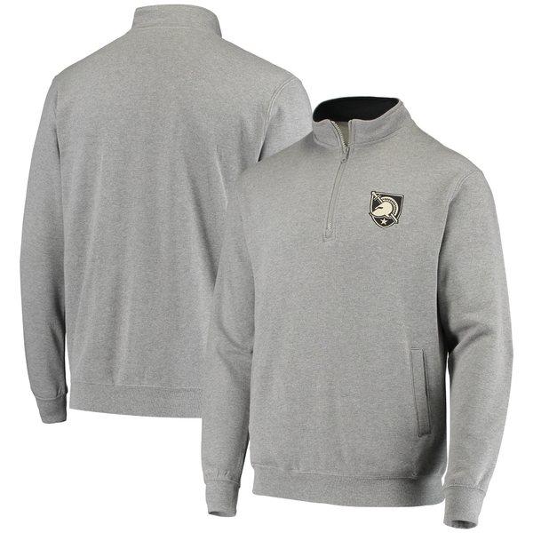 コロシアム メンズ ジャケット&ブルゾン アウター Army Black Knights Colosseum Tortugas Logo QuarterZip Jacket Charcoal