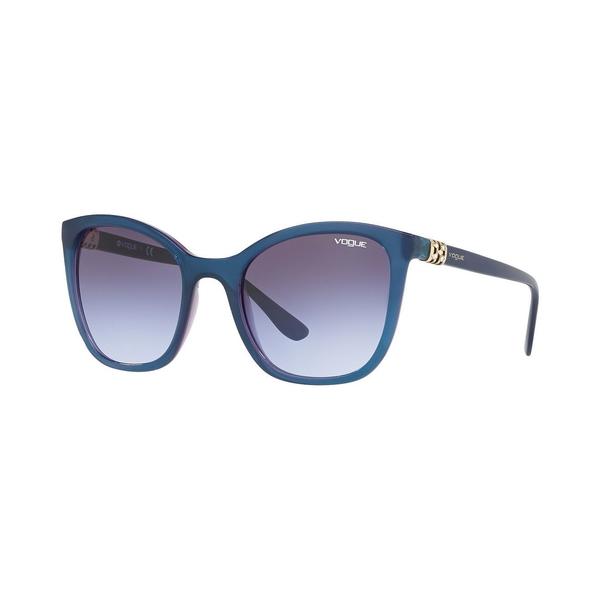ヴォーグ レディース アクセサリー サングラス アイウェア TRANS BLUE Sunglasses 全商品無料サイズ交換 Eyewear DRKGRY 超激安特価 Women's VO5243SB VIOLET 100%品質保証!