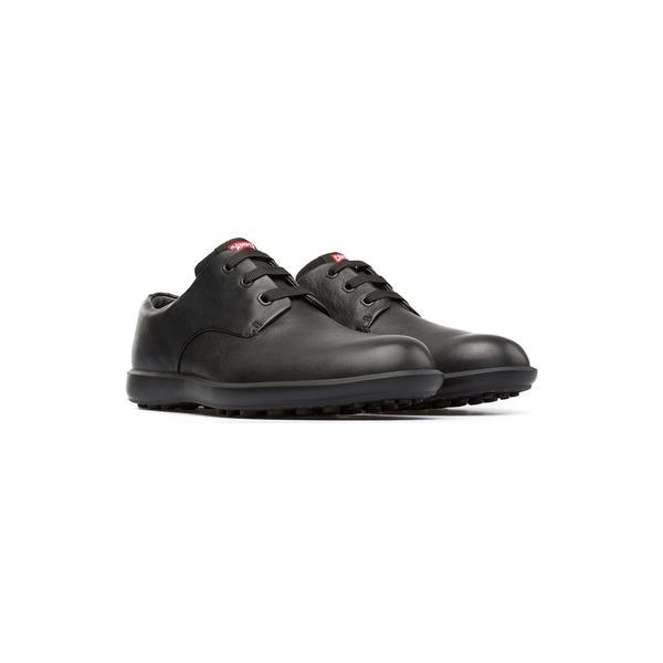 カンペール 贈与 メンズ シューズ ドレスシューズ 激安価格と即納で通信販売 Black 全商品無料サイズ交換 Men's Atom Work Shoes Dress