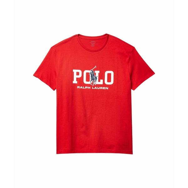 ラルフローレン メンズ シャツ トップス Classic Fit Graphic Tee Shirt Red