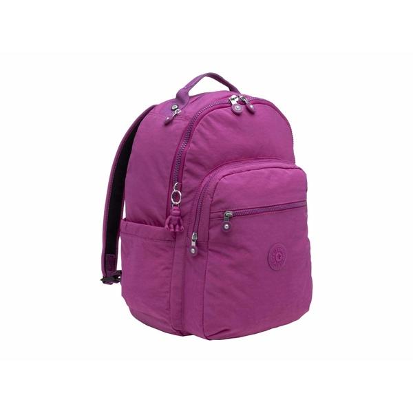 キプリング レディース バックパック・リュックサック バッグ Seoul Laptop Backpack Bright Pink