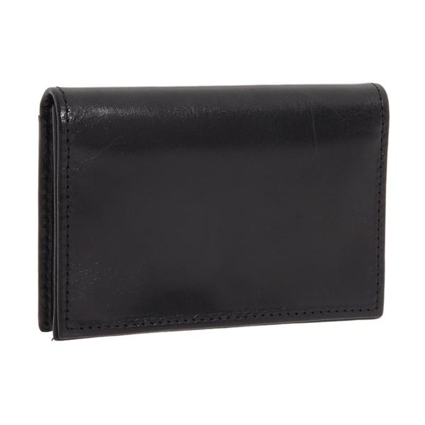 ボスカ メンズ 財布 アクセサリー Old Leather Collection - Gusseted Card Case Black Leather