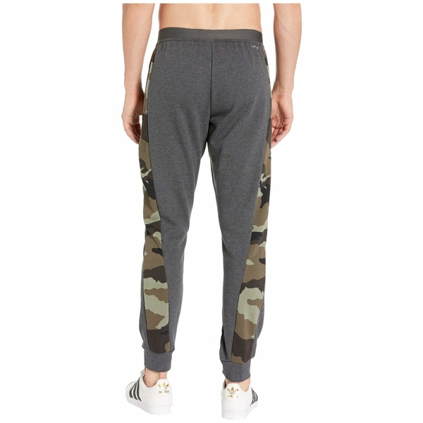 アディダス メンズ カジュアルパンツ ボトムス Fast and Confident All Over Print Pants Dark Grey Heather WhiteqRLA5j34