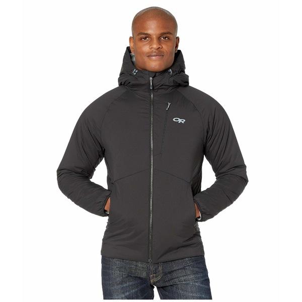 アウトドアリサーチ メンズ コート アウター Refuge Hooded Jacket Black