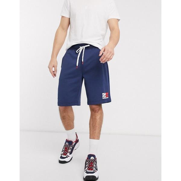 トミー ヒルフィガー メンズ カジュアルパンツ ボトムス Tommy Hilfiger denim zayne shorts in blue Blue