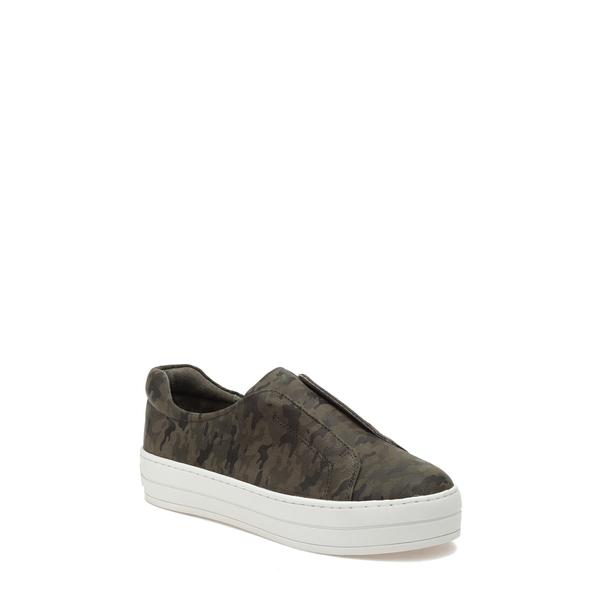 ジェースライズ レディース サンダル シューズ Heidi Platform Slip-On Sneaker Green Camouflage Leather