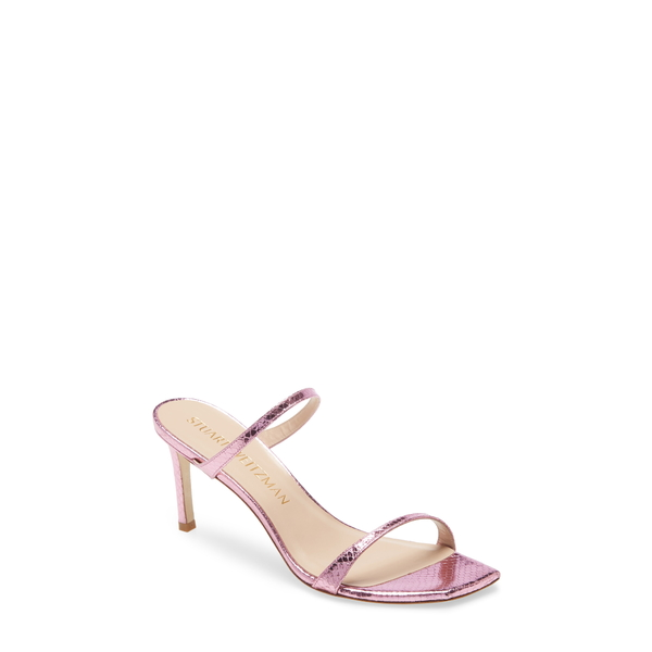 スチュアート ワイツマン レディース サンダル シューズ Aleena Slide Sandal India Pink