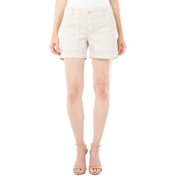 リバプール レディース カジュアルパンツ ボトムス Utility Cotton Blend Shorts Chalk