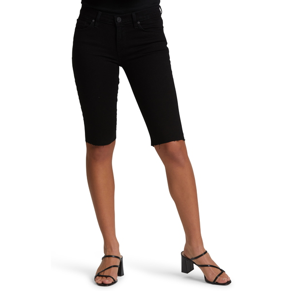 ハドソンジーンズ レディース カジュアルパンツ ボトムス Amelia Cutoff Knee Shorts Black
