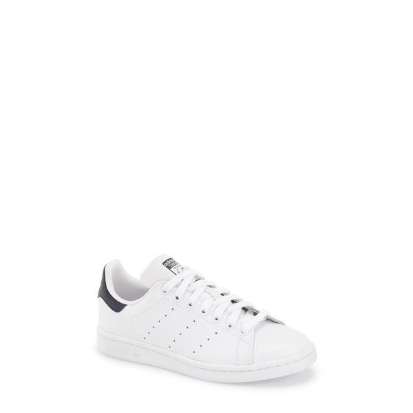 アディダス レディース スニーカー シューズ Stan Smith Sneaker White/ Navy