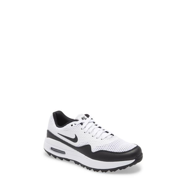 ナイキ レディース スニーカー シューズ Air Max 1 G Golf Shoe White/ Black