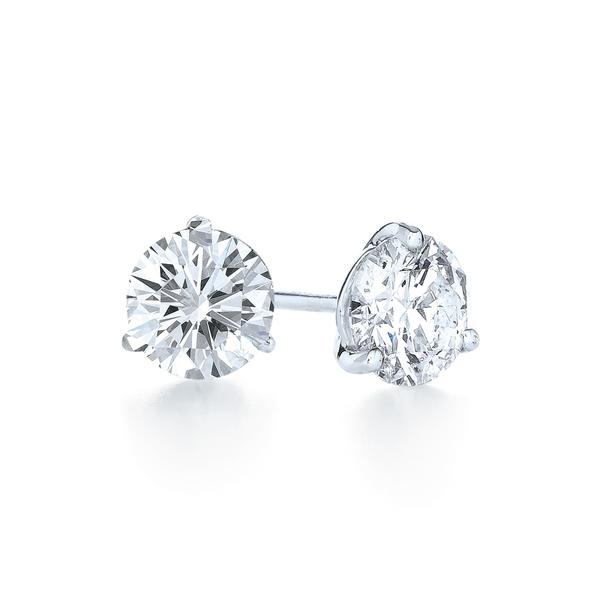 クィア レディース ピアス&イヤリング アクセサリー 2.10ct tw Diamond & Platinum Stud Earrings Platinum