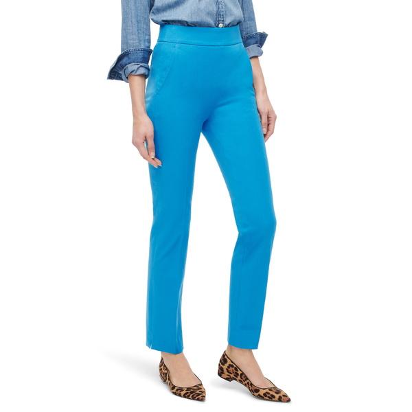 ジェイクルー レディース カジュアルパンツ ボトムス Remi Stretch Cotton Pants Prussian Blue