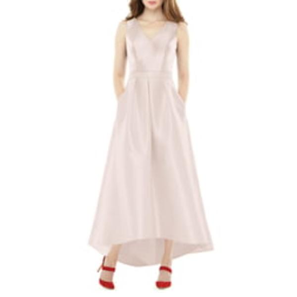 アルフレッド レディース ワンピース トップス Satin High/Low Gown Blush