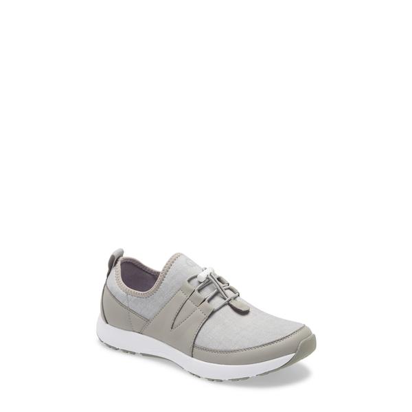 トラックバイアレグリア レディース スニーカー シューズ Cynch Knit Sneaker Dove Grey Leather
