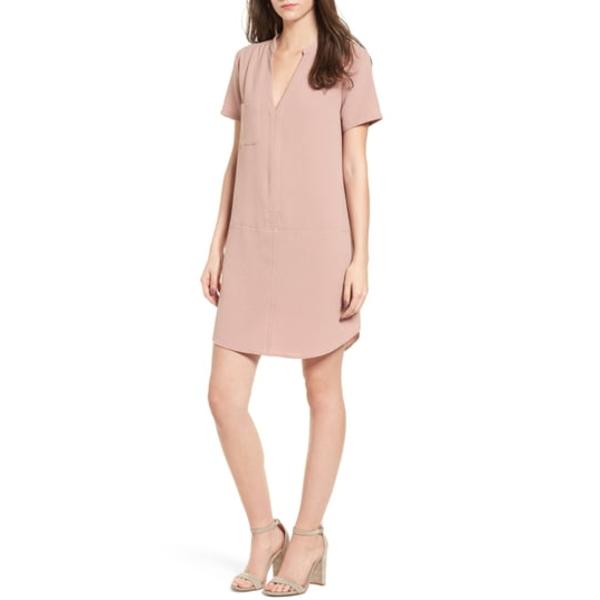 オールインフボール レディース ワンピース トップス Hailey Crepe Dress Pink Adobe