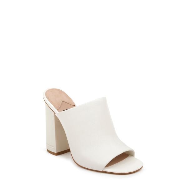 ザックポーゼン レディース サンダル シューズ Vivica Block Heel Sandal Cream Nappa Leather