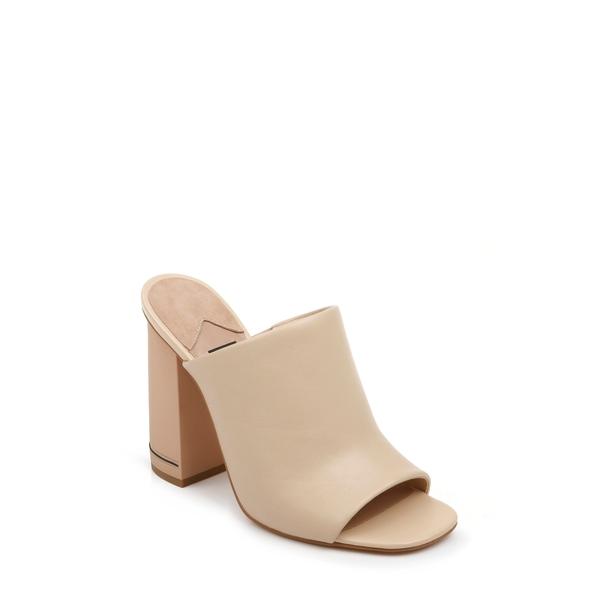 ザックポーゼン レディース サンダル シューズ Vivica Block Heel Sandal Latte Nappa Leather