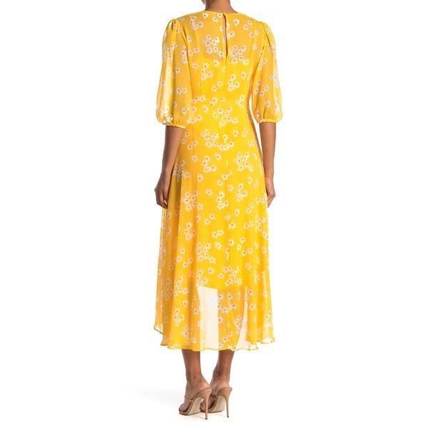 カルバンクライン レディース トップス ワンピース GOLDEN MUL 新作からSALEアイテム等お得な商品満載 全商品無料サイズ交換 Dress Chiffon 超人気 3 Daisy Maxi Surplus 4