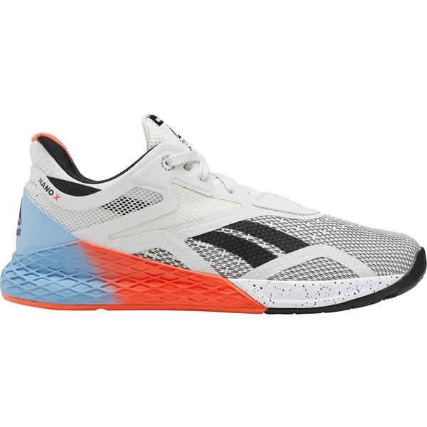 リーボック レディース スニーカー シューズ Reebok Women's Nano X Training Shoes White/Orange/Blue