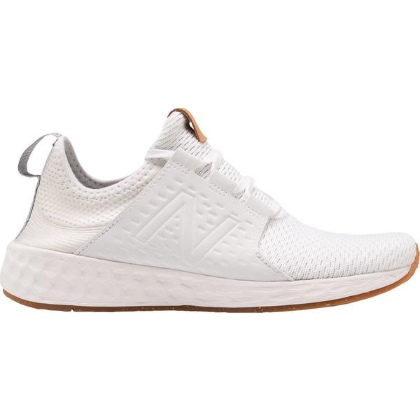 ニューバランス レディース スニーカー シューズ New Balance Women's Fresh Foam Cruzv1 Reissue Shoes White/White