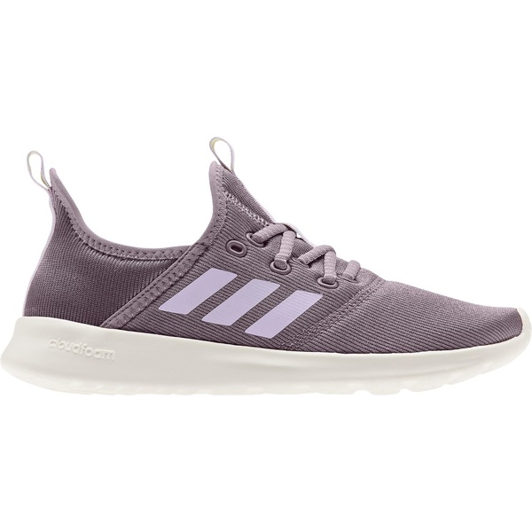 アディダス レディース スニーカー シューズ adidas Women's Cloudfoam Pure Shoes Grey/White/Coral