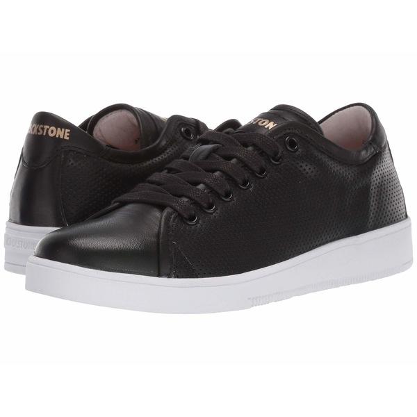 ブラックストーン レディース スニーカー シューズ Low Sneaker Perf - RL72 Black