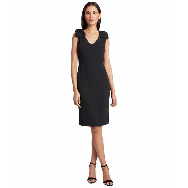 タハリ レディース ワンピース トップス Petite Knit Day Dress Black