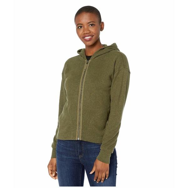 プラーナ レディース コート アウター Cozy Up Zip-Up Jacket Cargo Green Heather