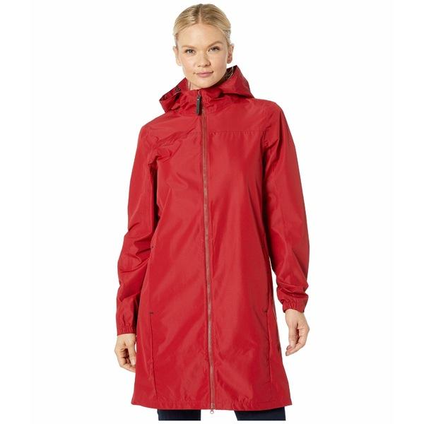 ロル レディース コート アウター Piper Packable Jacket Budapest Red
