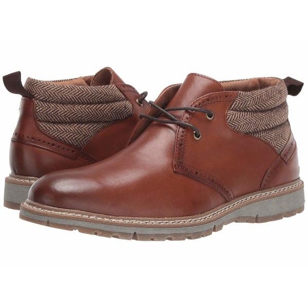 ステイシーアダムス メンズ ブーツ&レインブーツ シューズ Grantley Plain Toe Chukka Boot Pecan