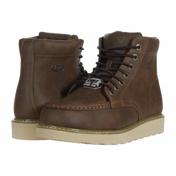 ラグズ メンズ ブーツ&レインブーツ シューズ Monterey Steel Toe Walnut/Gum/Cream