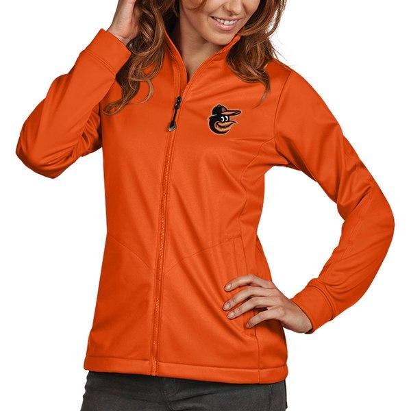 アンティグア レディース ジャケット&ブルゾン アウター Baltimore Orioles Antigua Women's Golf FullZip Jacket Orange