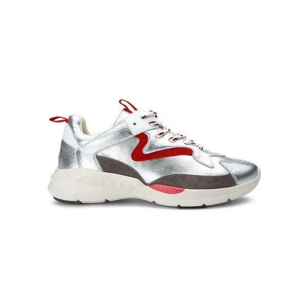 サンクチュアリー レディース スニーカー シューズ Groove Camo-Printed Sneakers Silver