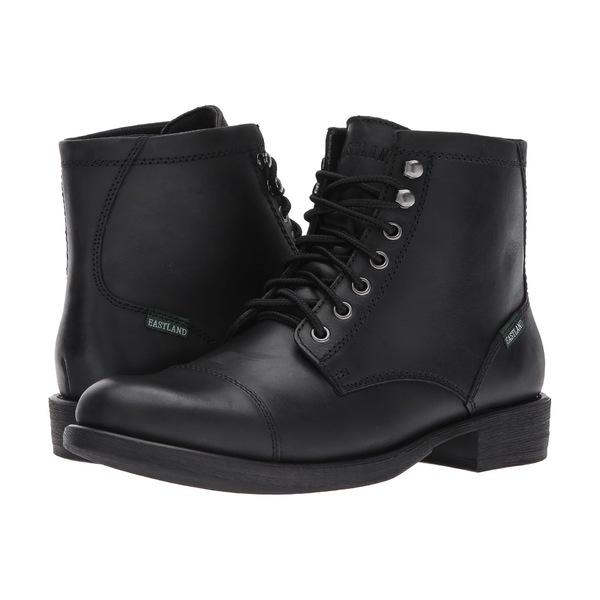 イーストランド メンズ ブーツ&レインブーツ シューズ High Fidelity Black Leather