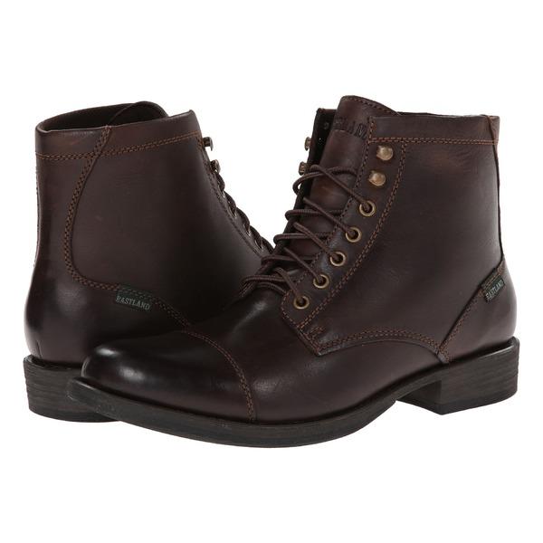 イーストランド メンズ ブーツ&レインブーツ シューズ High Fidelity Dark Brown Leather
