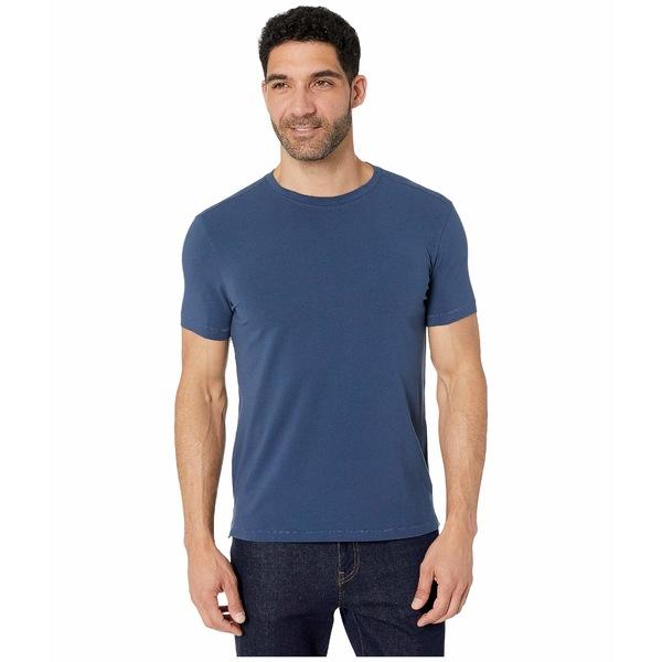 ジョンバルバトス メンズ シャツ トップス Grant Short Sleeve Cotton Crew Stream Blue