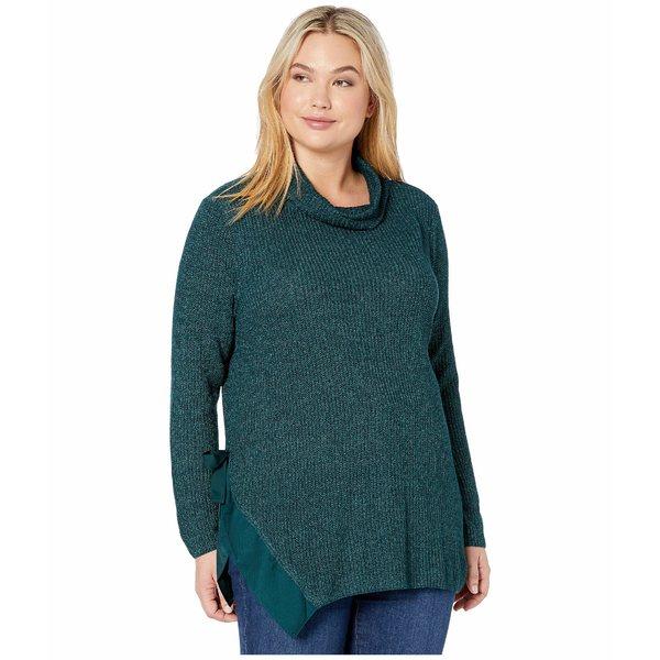 ニックプラスゾーイ レディース ニット&セーター アウター Plus Size West Side Sweater Deep Space Mix