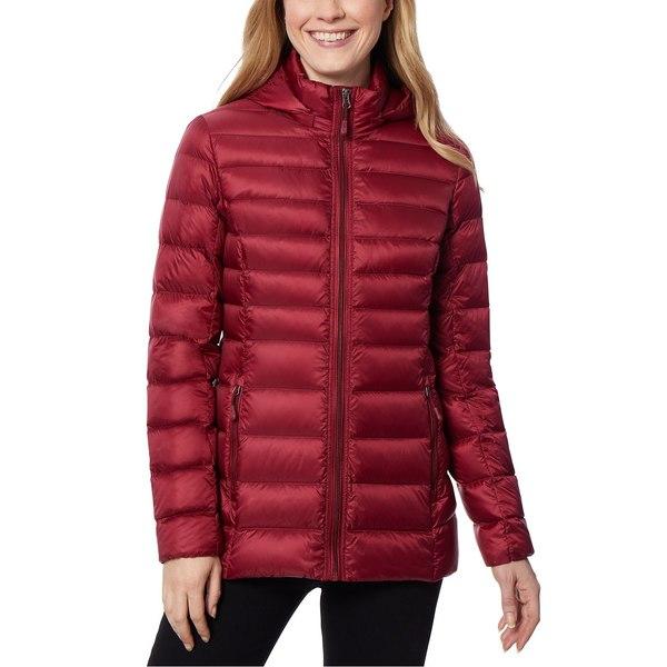 32ディグリー レディース アウター コート Wine 新作 Rack 贈物 全商品無料サイズ交換 Packable Puffer Coat Created Macy's Hooded Down for