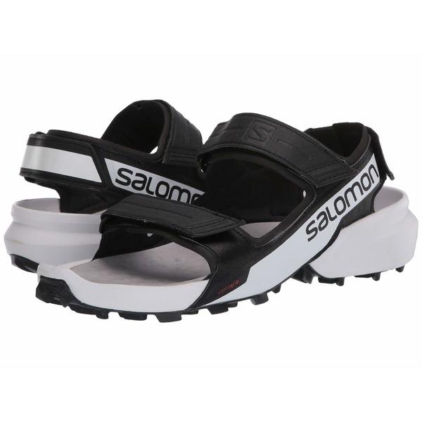 サロモン メンズ サンダル シューズ Speedcross Sandal Black/White/Black