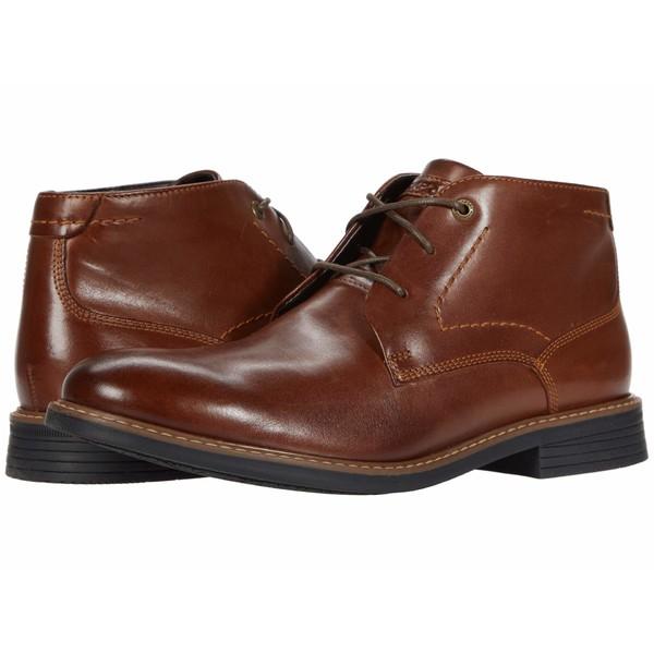 ロックポート メンズ ブーツ&レインブーツ シューズ Tailoring Guide Chukka Dark Brown Leather