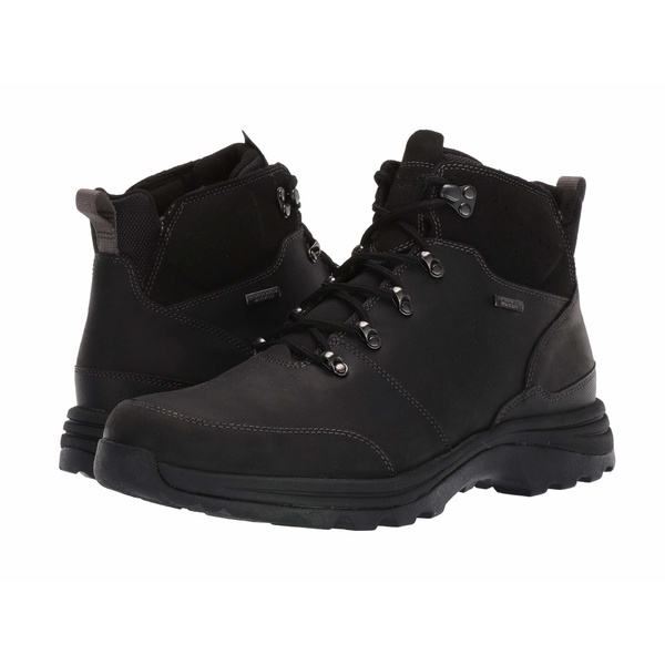 ロックポート メンズ ブーツ&レインブーツ シューズ XCS Cold Springs Waterproof Mudguard Boot Black