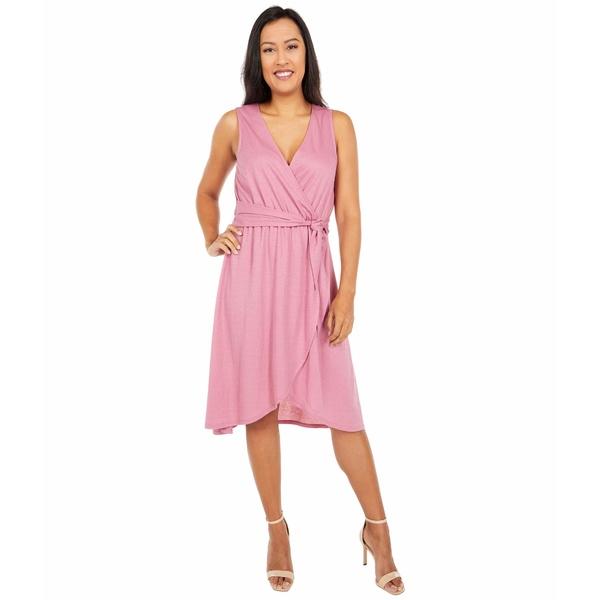 ボベー レディース ワンピース トップス Rowan Wrap Dress Cassis